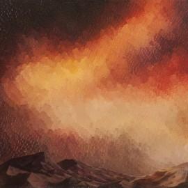 Corniche: huile sur toile 60X50 (1979)