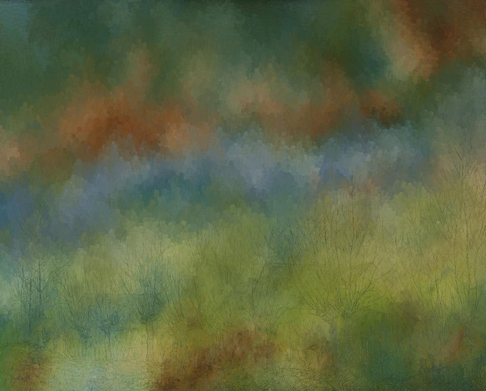 Nuages bruns: Huile sur toile 100X80 (1979)