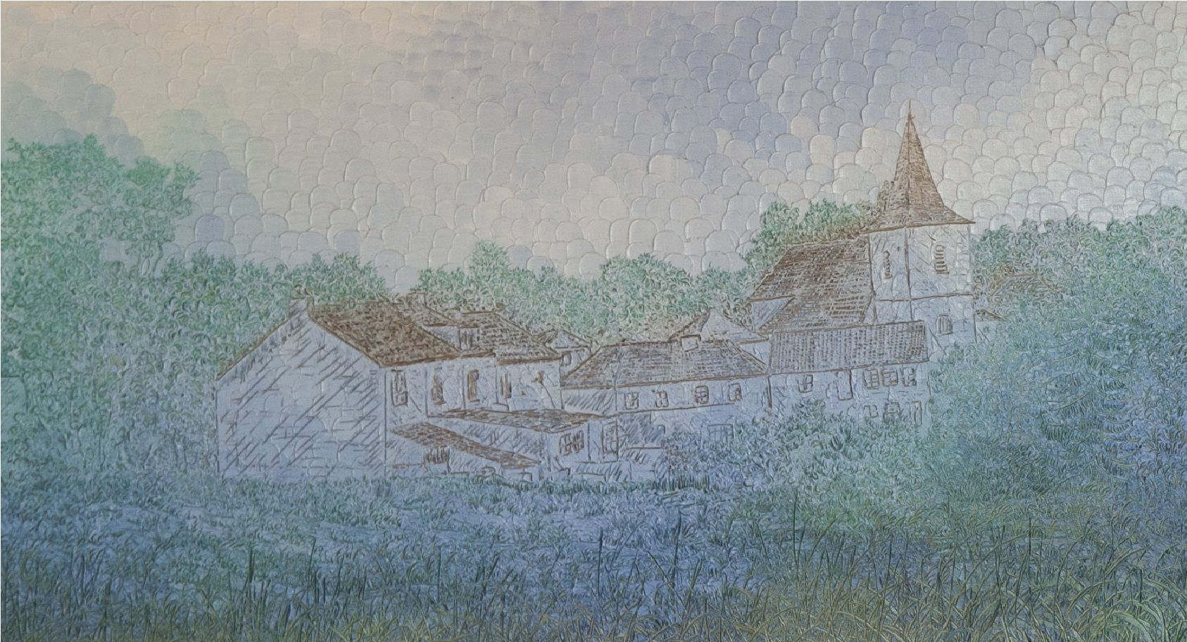 Au Village de Donnemarie-Dontilly SM - détail
