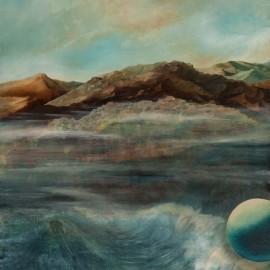 L'Odyssée: huile sur toile 100X80 (1980)