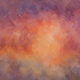 Vibrations: huile sur toile 60X50 (1978)