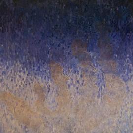 L'Appel pétrifié: huile sur toile, 70X80 (1972)