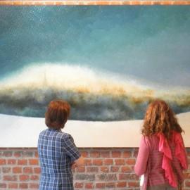 Bruxelles Intemporelle, Huile sur toile – 400 x 140cm (1980)
