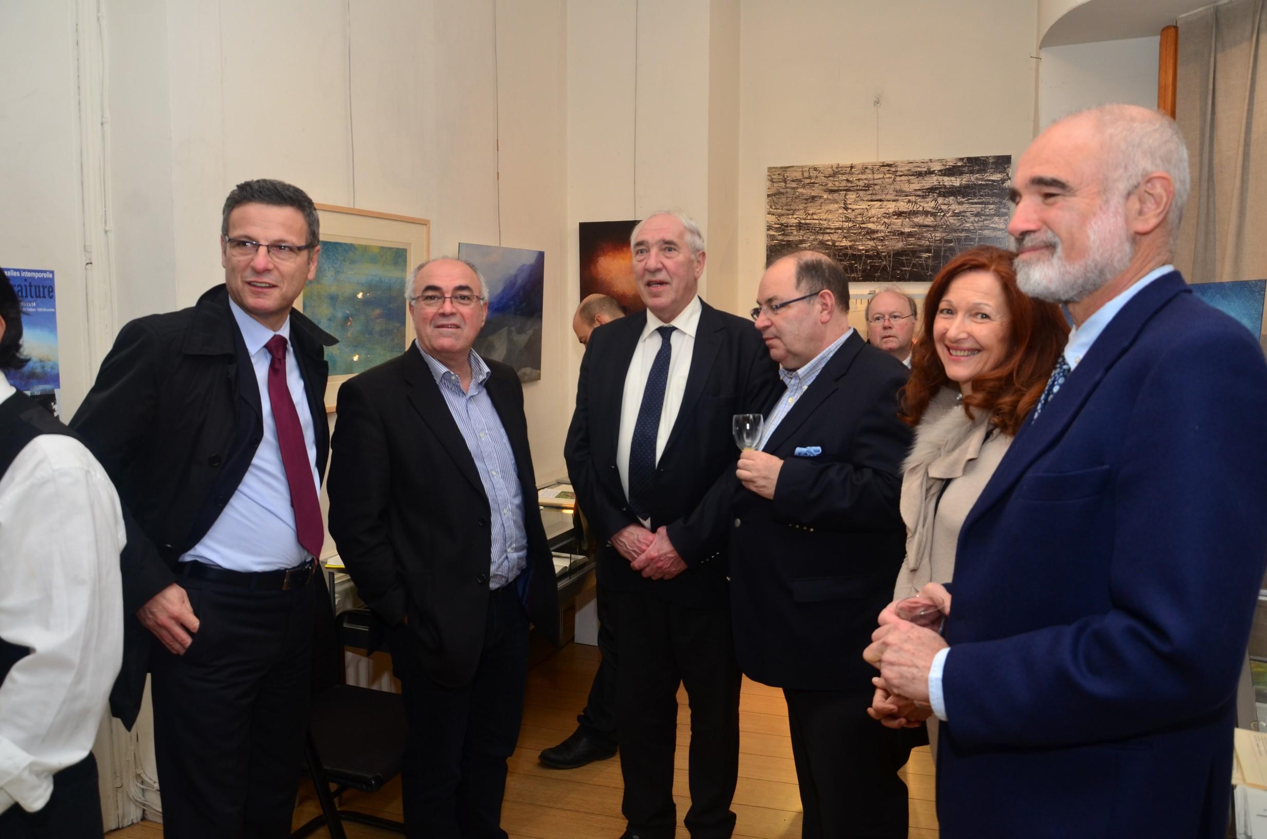 Vernissage Pol Fraiture 4.11.14 - Galerie Alfican