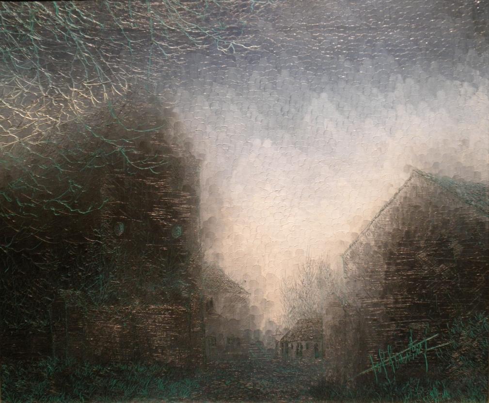 Adieu Rêve: Huile sur toile 60X50 (1977)