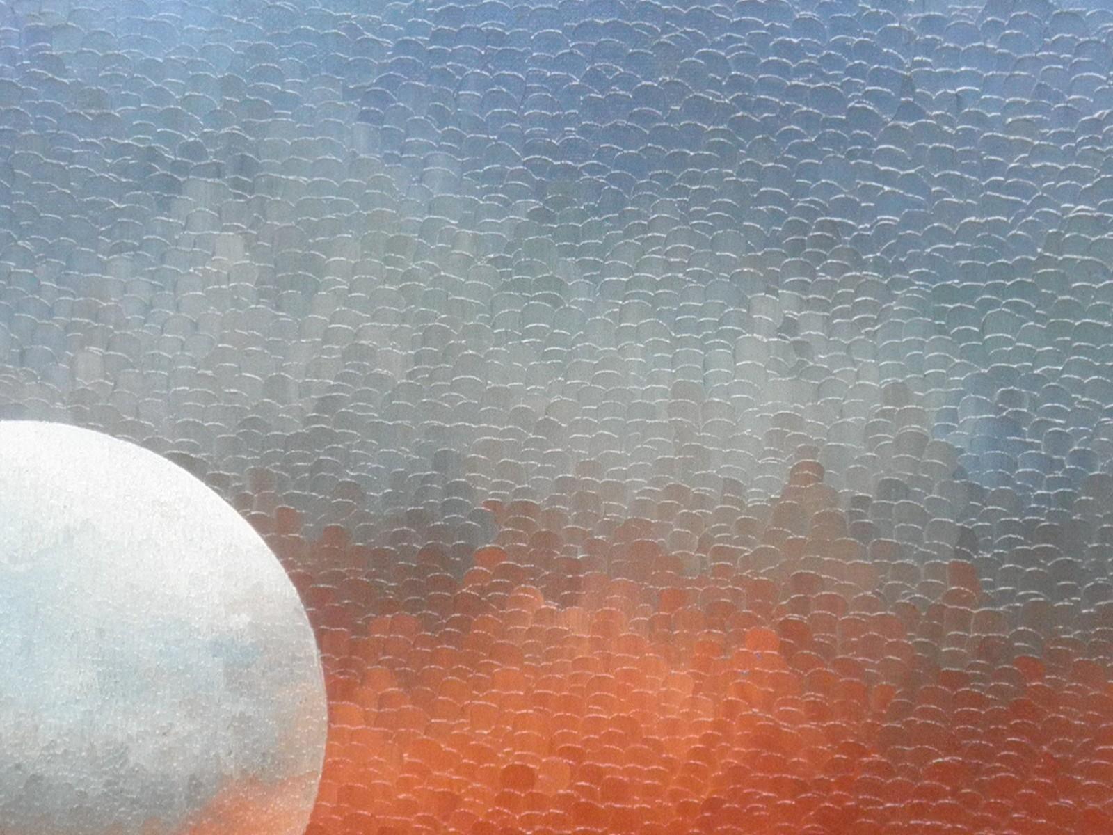 Espace d'Ailleurs: huile sur toile 60X50 (1981)