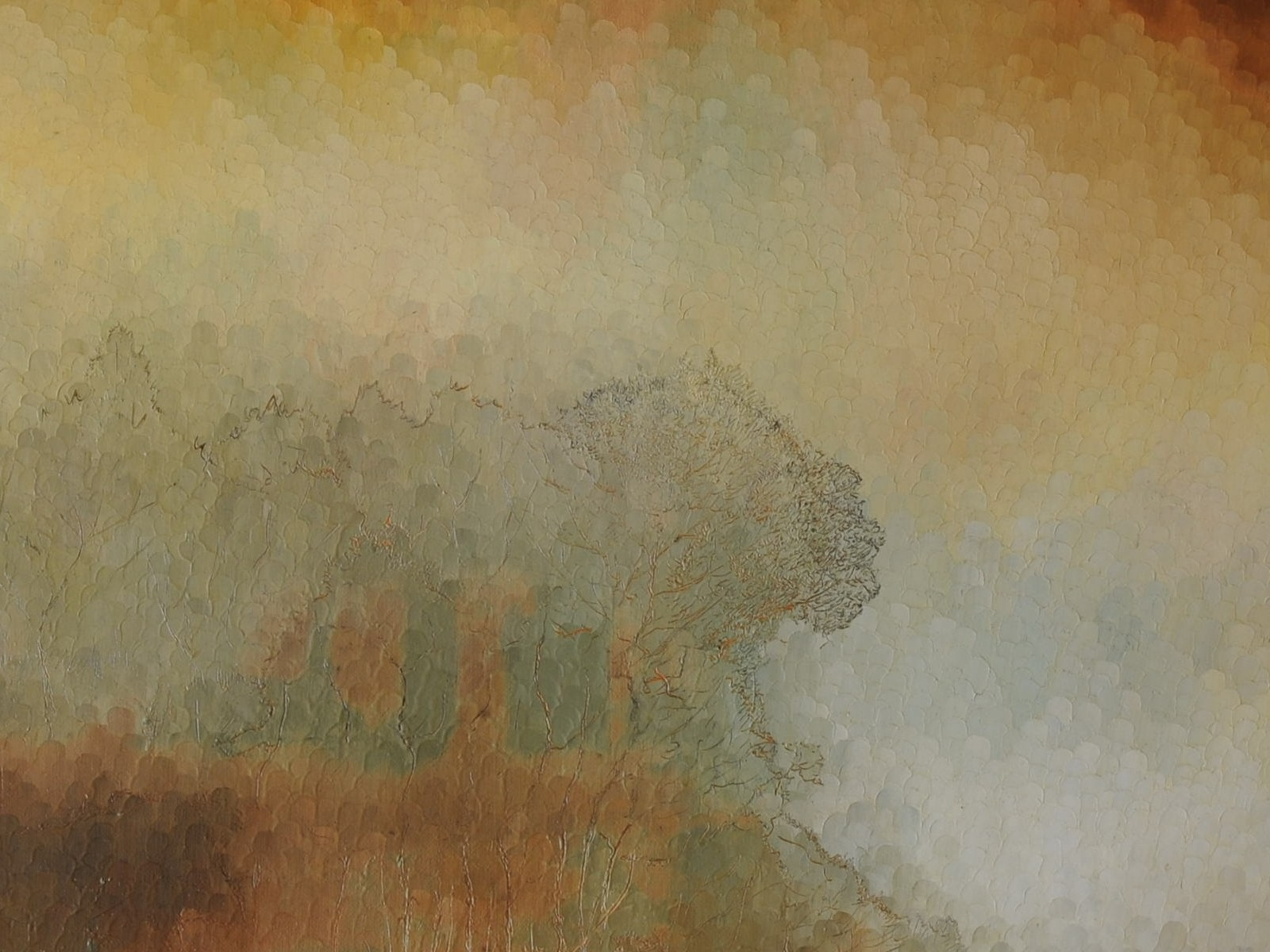 Hommage à la Peinture ancienne - Le Mort-né - détail