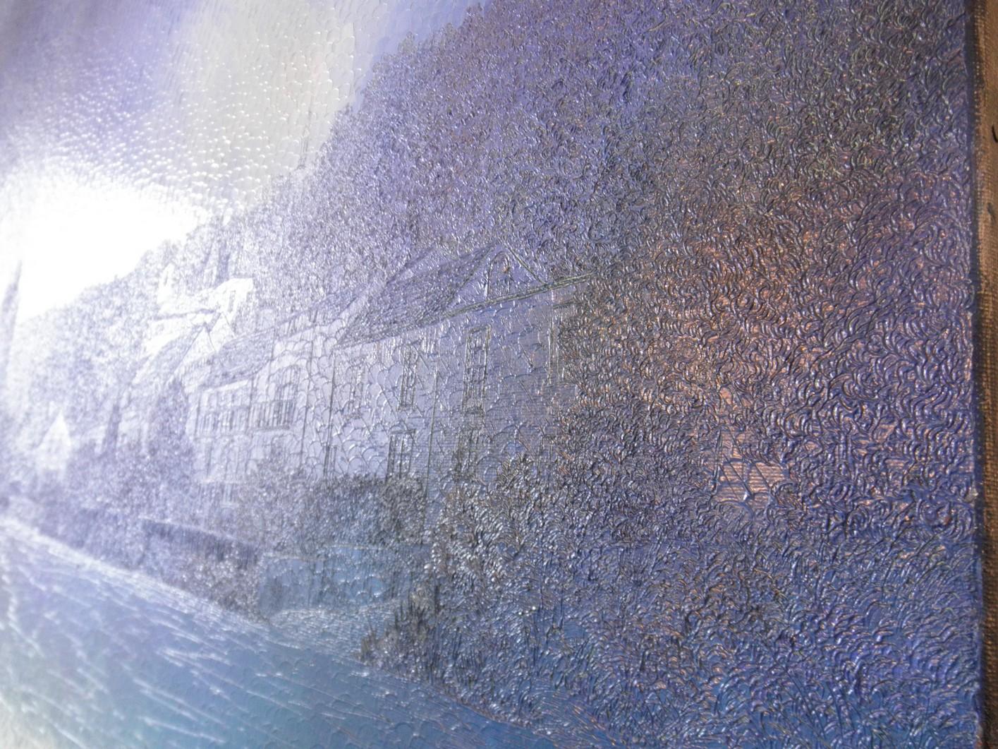 Lac de Pierrefonds - détail