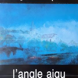 Invitation à l'exposition L'Angle Aigu, octobre 1985