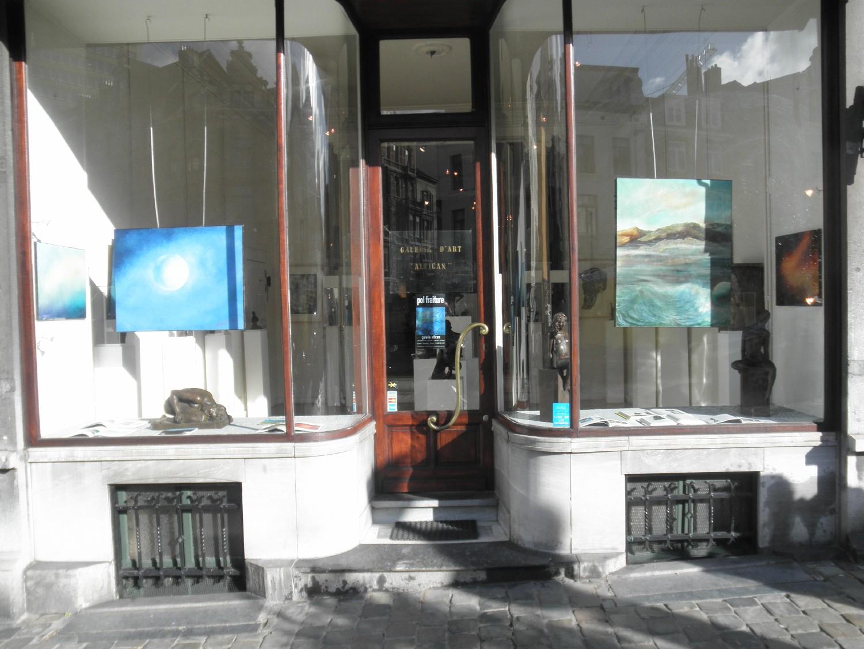 Exposition Galerie Alfican Novembre 2012