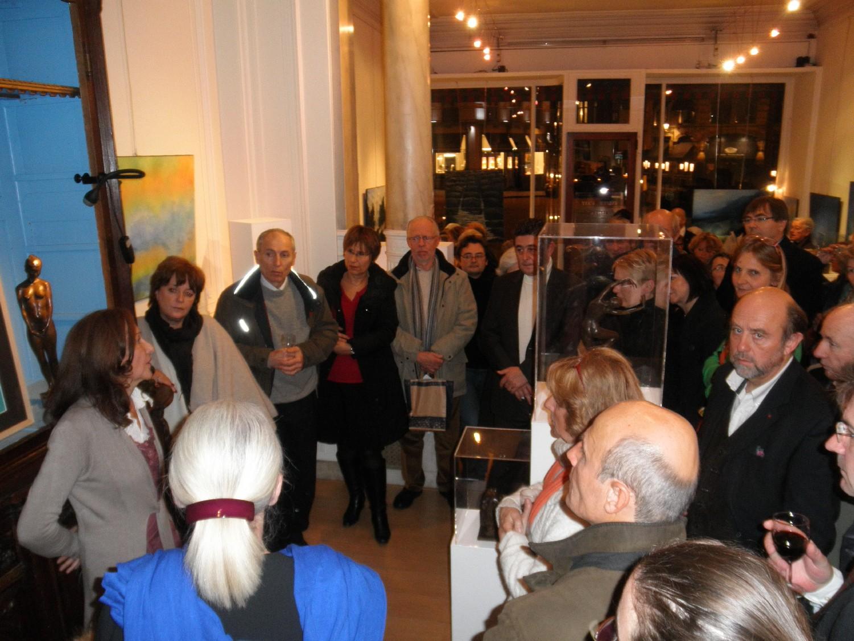 Vernissage Galerie Alfican Novembre 2012